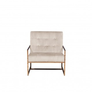 Batillia Beige Accent Chair