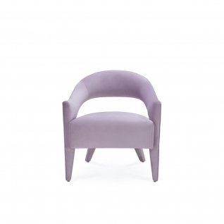 Felipe Light Purple Accent Chair