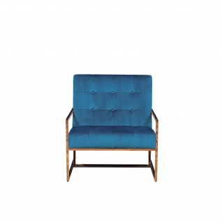 Batillia Blue Accent Chair