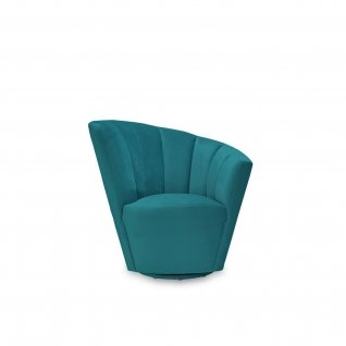 Tulip Dark Green LAF Accent Chair