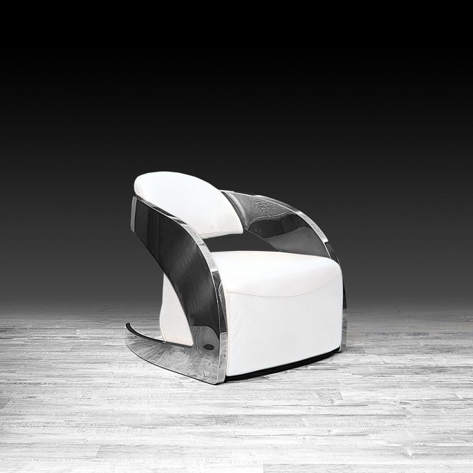 Outstanding Zetta Silver Accent Chair White Andrewgaddart Wooden Chair Designs For Living Room Andrewgaddartcom