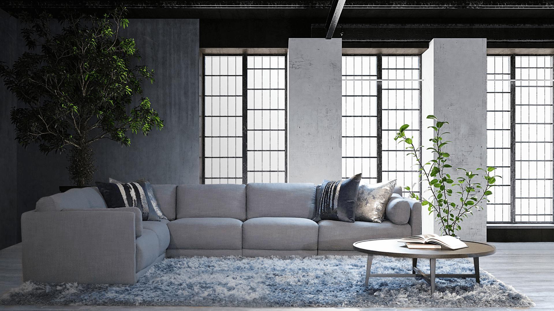 Allamoda Furniture modern living room