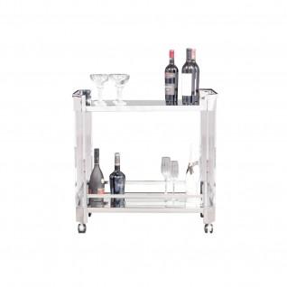 Iceland Silver Bar Cart