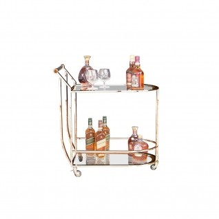 York Rose Gold Bar Cart