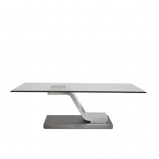 Float Silver End Table