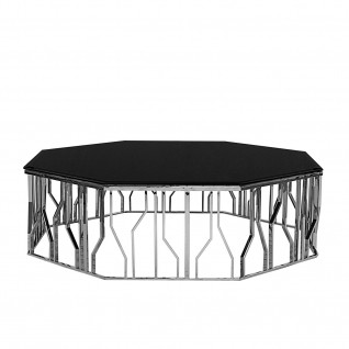 Lorensia Silver Large Coffee Table
