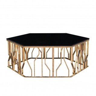 Lorensia Coffee Small Rose Gold Coffee Table