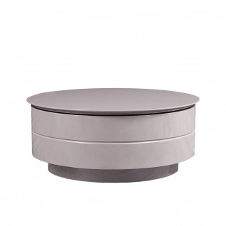 Mario adjustable round coffee table