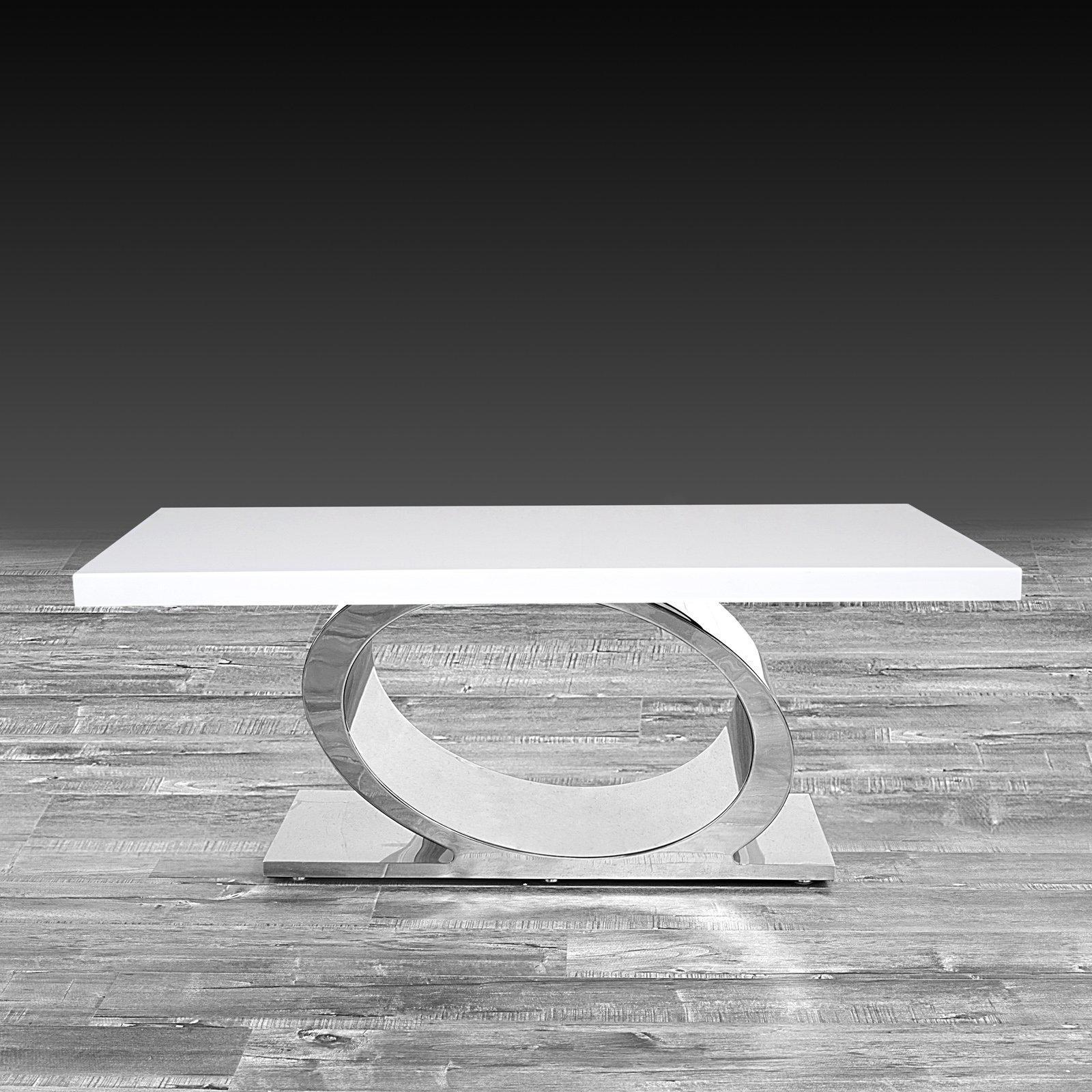 Onyx Silver Coffee Table