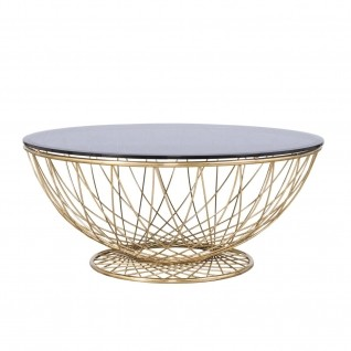 Torcere Gold Coffee Table
