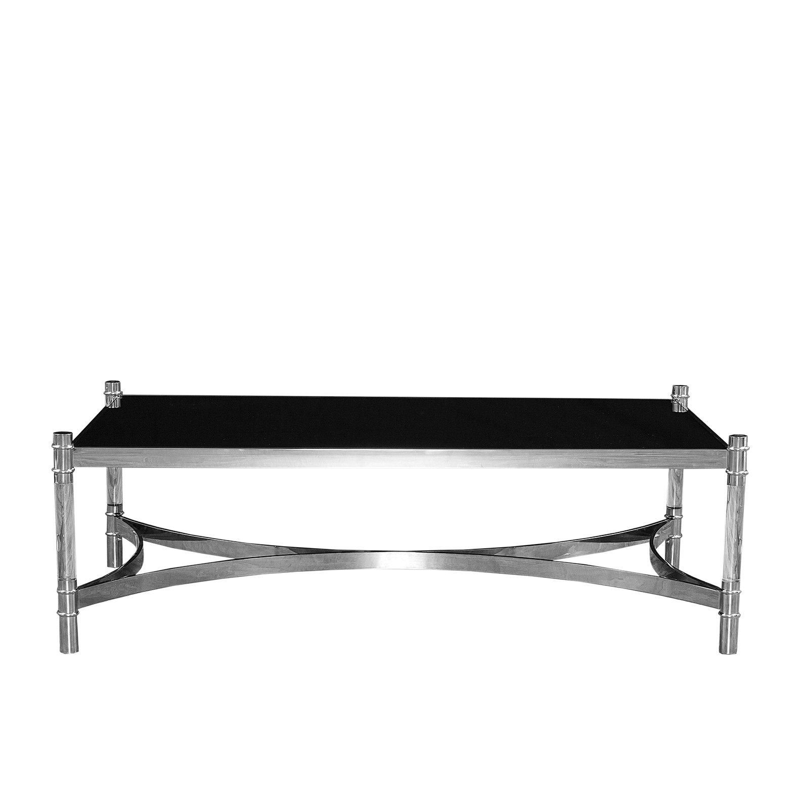 Rect Silver Coffee Table