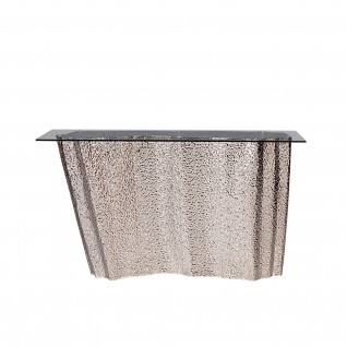 Glacier Silver Console Table