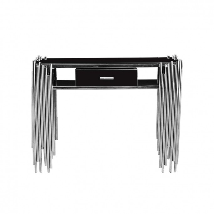 Mauris Silver Console Table