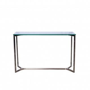 Maya Mirrored Console Table
