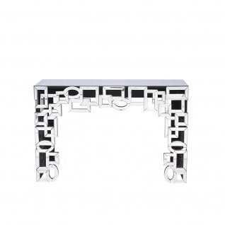 Nino Mirrored Console Table