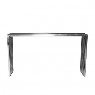 Prisco Silver Console Table