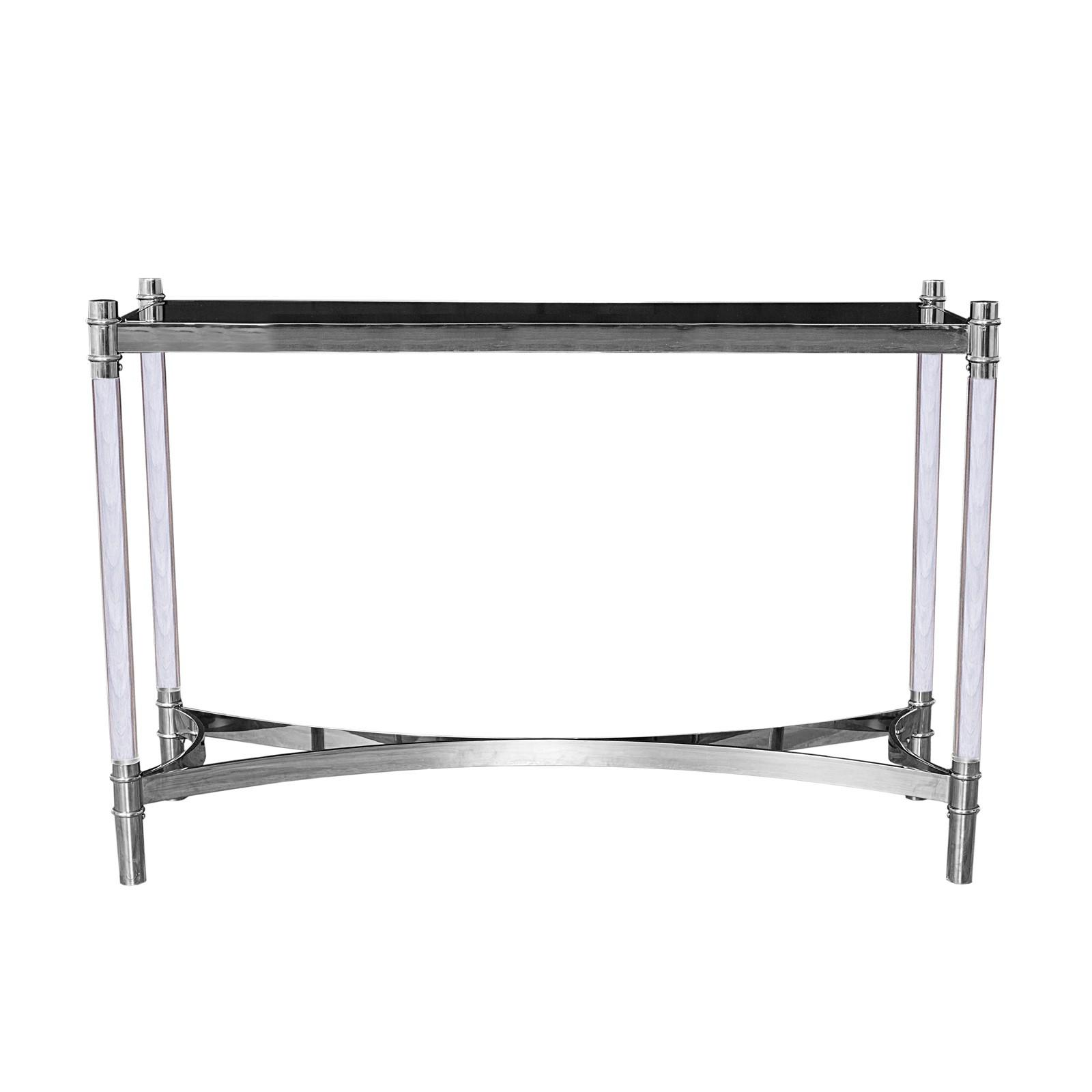 Silver console table varossi allamoda furniture geotapseo Image collections