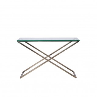Xavier Mirrored Console Table