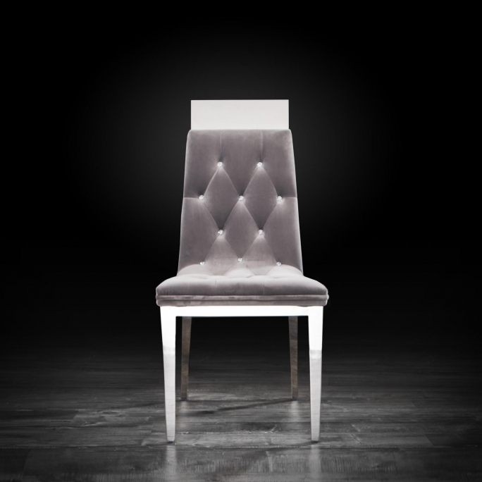 Phenomenal Gianna Silver Dining Chair Lamtechconsult Wood Chair Design Ideas Lamtechconsultcom