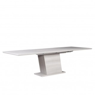 Two Ext Forte Gray Dining Table