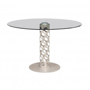 Levine Champagne Round Dining Table