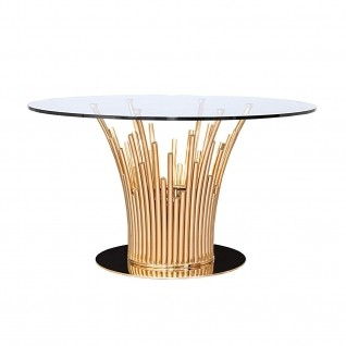 Mauris Rose Gold Dining Table