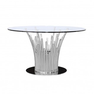 Mauris Silver Dining Table
