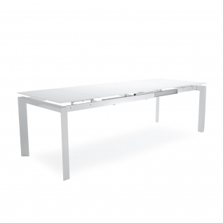 Natalia matte Gray Extendable Table