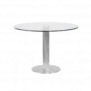 Ovideo Silver Dining Table