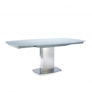 Roland matte Gray Extendable Table