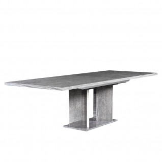 Ventura Two Ext Gray Dining Table