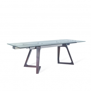 Victoria Dark Brown Extendable Table