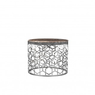 Alveare Silver  End Table