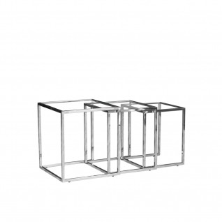 Silver Nesting Table Set | Celio