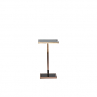 Martini End Table | Rose Gold