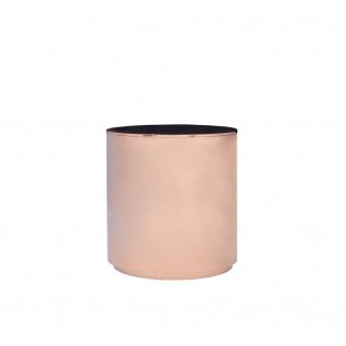 Otello Rose Gold Round End Table