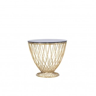 Torcero Gold End Table