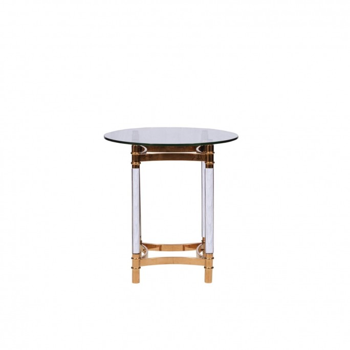 Round Rg End Table Varossi