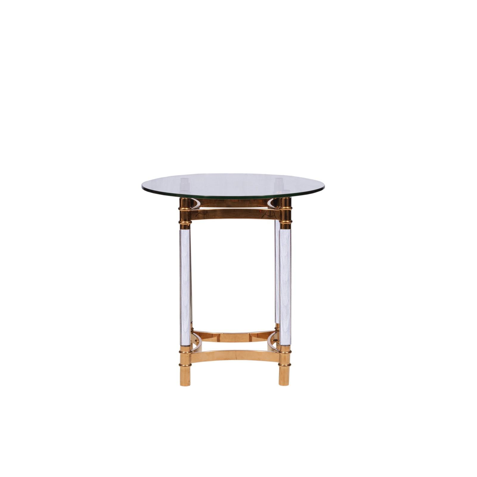 Round RG End Table