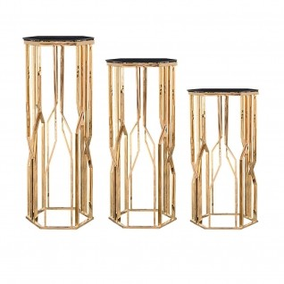 Lorensia Rose Gold Flower Stand