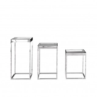Santina Silver Flower Stand
