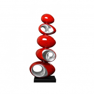 Atomic Red Sculpture