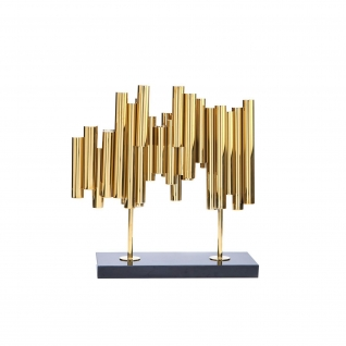 Breeze Gold Sculpture