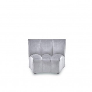 Lotus Light Gray Modular Sectional