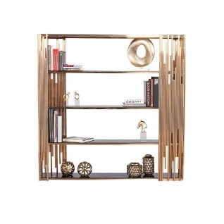 Mauris Rose Gold Shelf