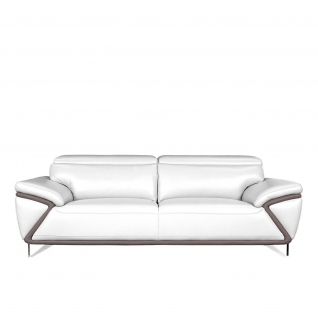 Dante White Sofa Set