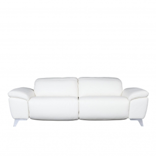 Evelin White Sofa Set