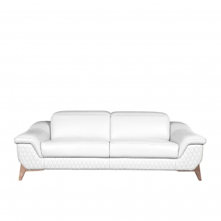 Fiona White Sofa Set