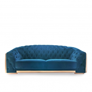 Massimo Blue Sofa Set