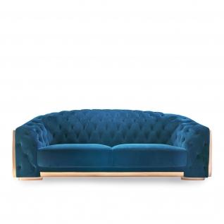 Massimo Blue Sofa Set